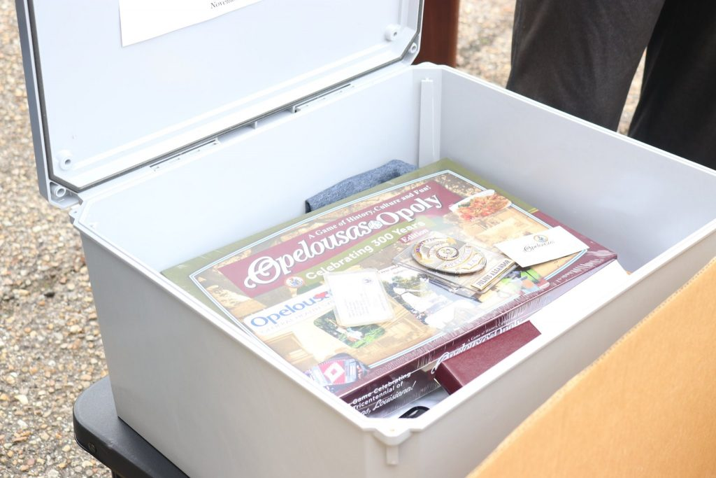 History in the Making: City of Opelousas Seals a Time Capsule