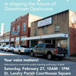 Public Meeting for Master Plan of Downtown Opelousas