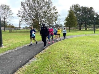 New South City Park Walking Trail